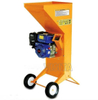 Small Size Compact Style Gasoline Wood Chipper, Branch Chipper Shredder