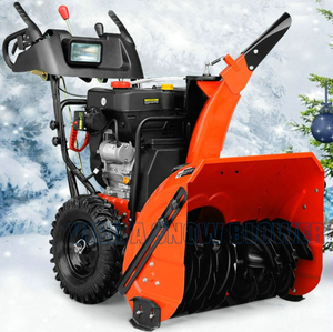 "15HP 34"" Chain Drive Snow Blower with power steering"