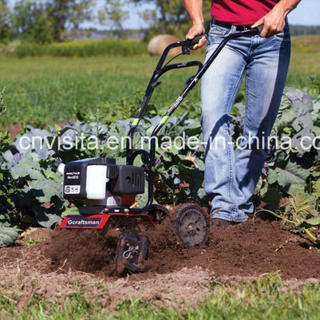 52cc 2-Cycle Engine Mini Garden Cultivator Tiller