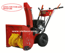 11HP 337cc Gas Snow Thrower