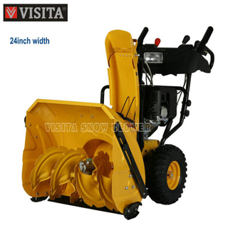 "6.5HP 24"" Chain Drive Snow Removal"