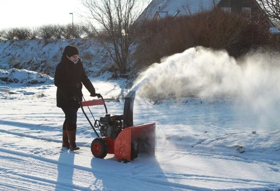 ecnomic 6.5HP Gasoline Snow Thrower