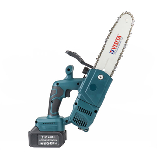 Cordless 21V Lithium Battery Chainsaw with assist handle