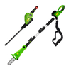 2 in1 Multi Function Li-ion Battery Cordless Pole Chainsaw Hedge Trimmer