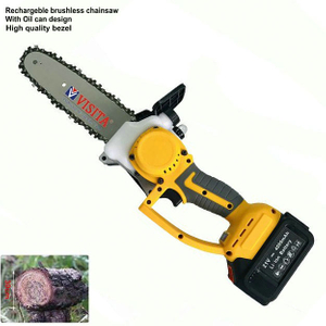 Electric Cordless 21V 3.0/4.0Ah Lithium Battery Chainsaw