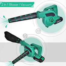 Lithium Battery Cordless Blower with Vacuum